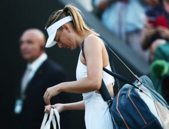 Gegen die Nummer 132: Sharapova blamiert sich in Wimbledon