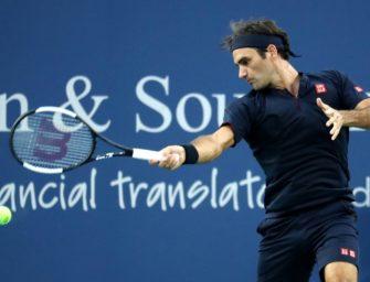 Federer zieht ins Viertelfinale von Cincinnati ein