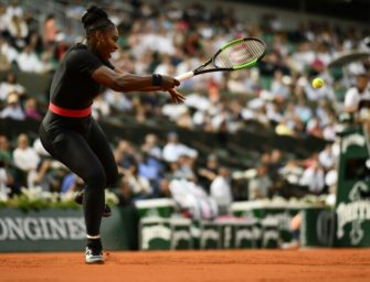 Kein Catsuit! Dresscode für Serena Williams in Paris