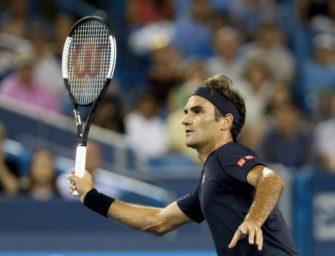 Federer nach Sieg gegen Wawrinka im Halbfinale von Cincinnati