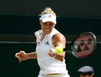 US Open: Wimbledonsiegerin Kerber gewinnt ihr Auftaktmatch
