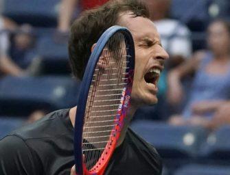 Murray verliert beim Grand-Slam-Comeback, Wawrinka in Runde drei