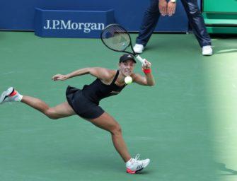 Kerber zittert sich in die dritte Runde der US Open