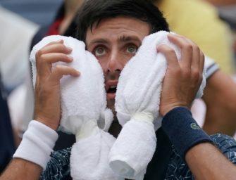 US Open: Wimbledonsieger Djokovic mit leichten Problemen weiter