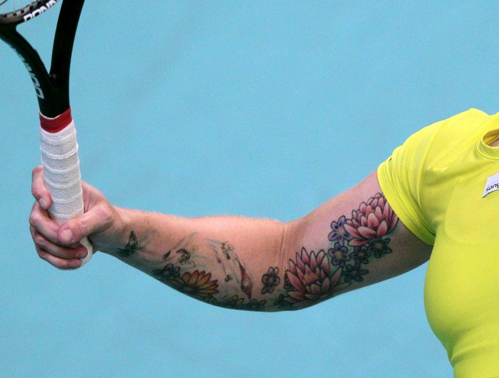 Bethanie Mattek-Sands Tattoo