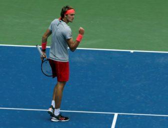 Zverev erstmals in der dritten Runde der US Open