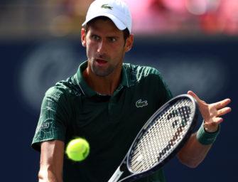 Cincinnati: Die vierte goldene Chance für Novak Djokovic