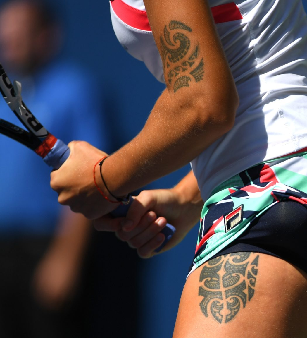 Tattoos In Tennis Stan Wawrinka Karolina Pliskova And Much