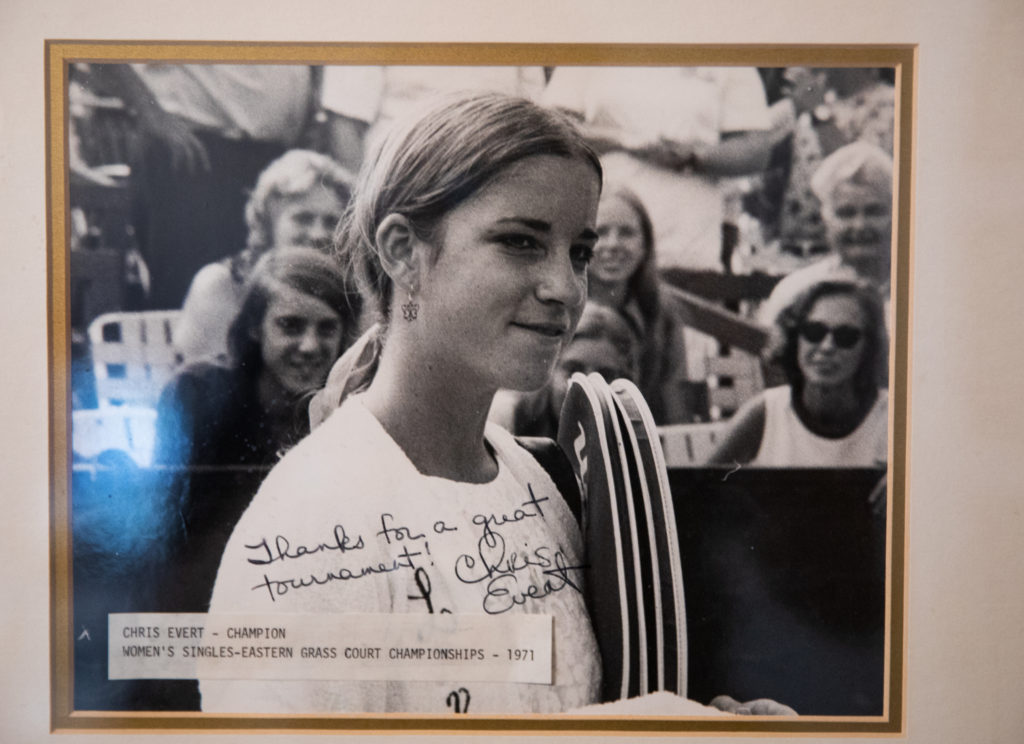 Chris Evert – Orange Lawn Tennis Club