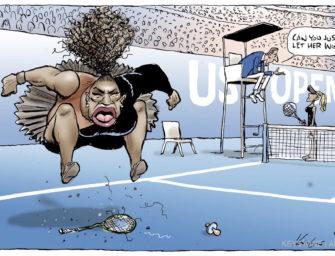 Serena-Williams-Karikatur: Nicht rassisitisch und sexistisch