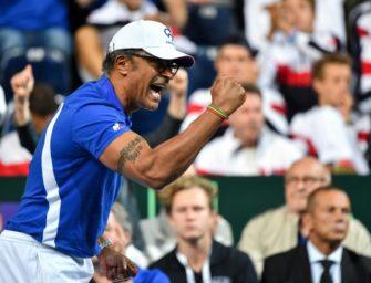 Davis Cup: Finale zwischen Frankreich und Kroatien in Lille