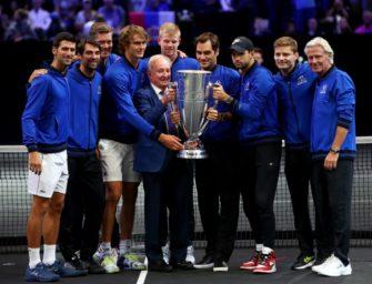 Zverev mit Team Europa erneut Laver-Cup-Sieger
