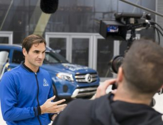 Ausgeruhter Federer fiebert Laver Cup entgegen