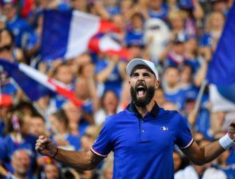 Davis-Cup-Halbfinale: Frankreich und Kroatien mit 2:0 in Führung