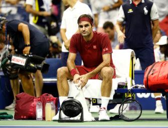 Schock in New York: Federer verliert schon im Achtelfinale