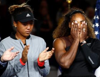 Serena Williams: So leidet sportliches Ansehen und modernes Frauenbild