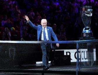 Rod Laver: Nur einen Aufschlag für Tennisriesen?