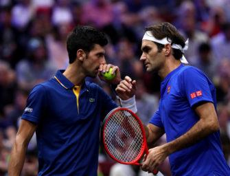 Laver Cup: Team Europe führt, Djokovic und Federer verlieren Doppel