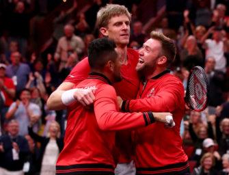 Laver Cup: Anderson schlägt Djokovic, Team World bleibt dran