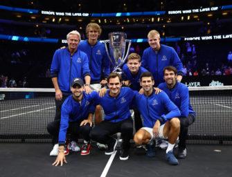 Laver Cup: Alexander Zverev lässt Team Europe jubeln