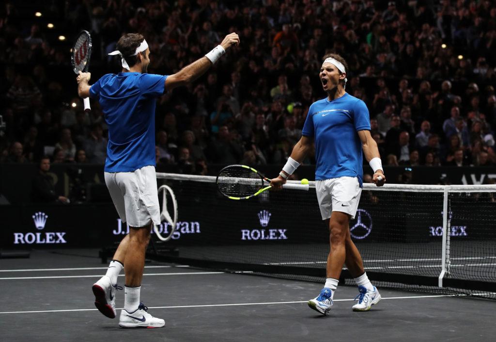 Laver Cup 2017 – Roger Federer. Rafael Nadal