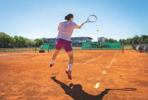 Seitenlinie_Übung Tennis