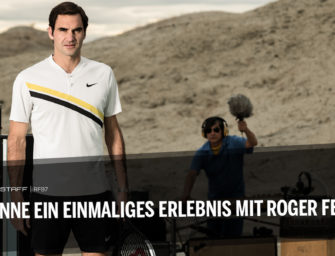 Swiss Indoors Basel: Gewinne ein einmaliges Erlebnis mit Roger Federer
