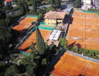 Hanbury Tennis Club in Ligurien