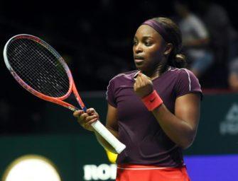 WTA-Finale: Switolina und Stephens im Endspiel