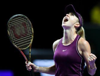 WTA-Finale: Svitolina nach Marathon-Match erstmals im Endspiel