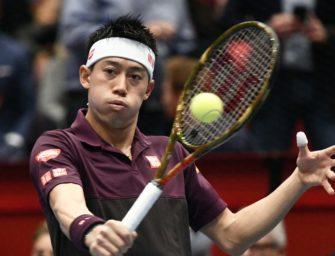 Nishikori verliert in Wien neuntes Endspiel in Folge