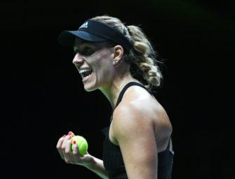 Liveticker zum Nachlesen: Stephens wirft Kerber bei den WTA-Finals raus