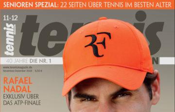 Tennis Magazin 11-12/2018: Roger Federer – so tickt der Maestro wirklich