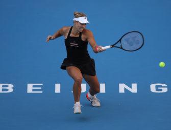 WTA in Asien: Kerber folgt Görges ins Achtelfinale