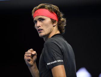 ATP Peking: Zverev meistert Auftakthürde