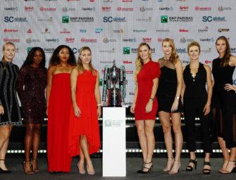 WTA-Tour: Neuer Termin für WTA-Finals in Shenzhen
