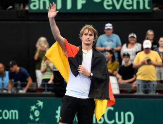"""Zverev bedauert Davis-Cup-Reform: """"Mag das System gar nicht"""""""