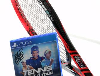 Racket & PS4-Game: Gewinnt ein Doppelpack von Angie Kerber