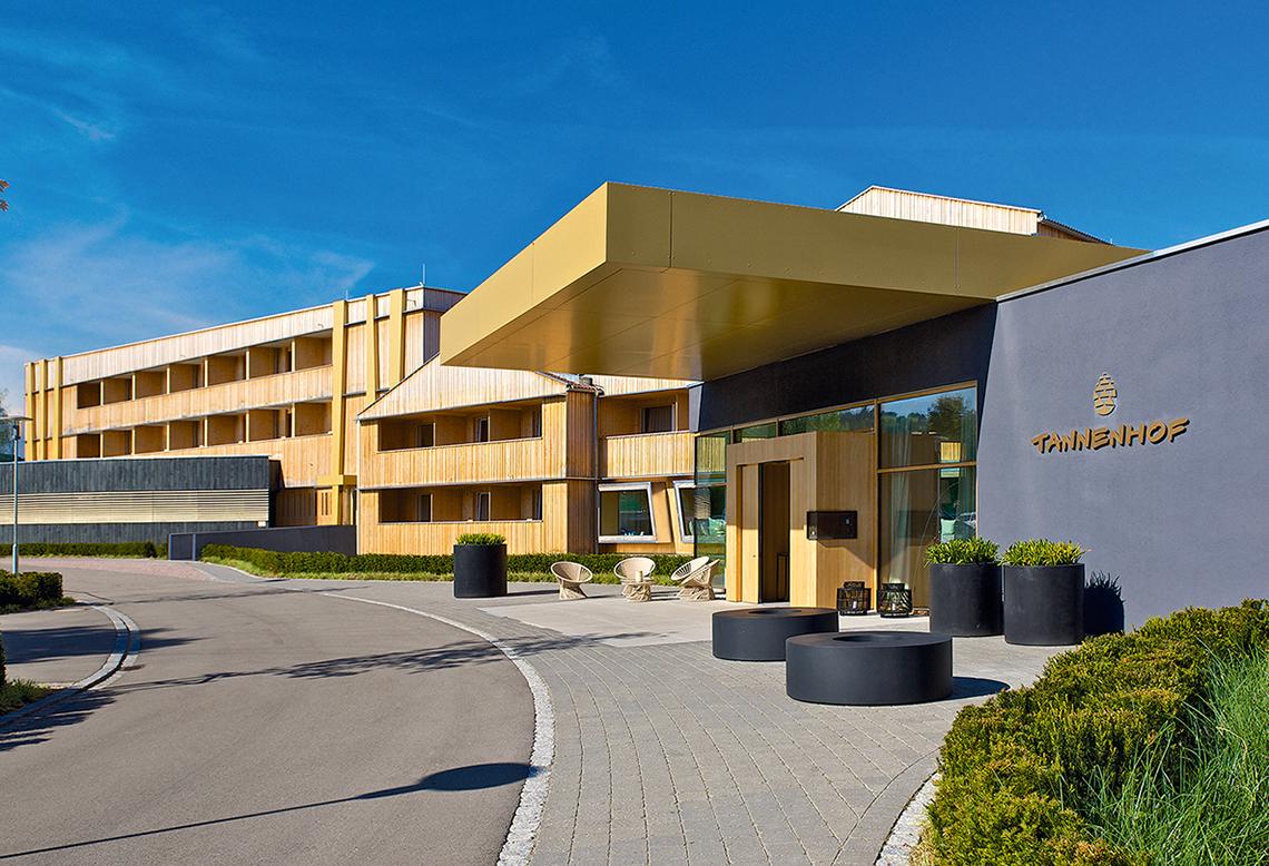 Tennis und alpiner Lifestyle im Hotel Tannenhof