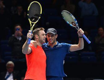 Bryan/Sock gewinnen Doppeltitel beim ATP-Saisonfinale