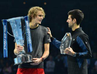 Zverev nach London-Sieg wieder Nummer vier der Weltrangliste