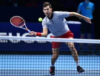 ATP-Finale: Thiem wahrt seine Chance und hofft auf Schützenhilfe