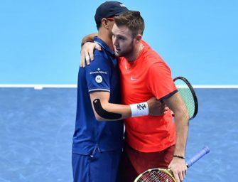 Tennis: Bryan/Sock gegen Herbert/Mahut im Doppelfinale von London