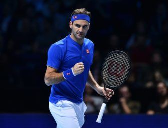 Federer nach Erfolg über Anderson Gruppensieger in London