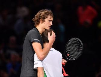 Zverev beim Masters in Paris erstmals im Viertelfinale