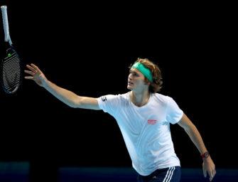 Liveticker zum Nachlesen: Alexander Zverev siegt zum Auftakt der ATP-Finals