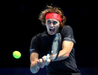 Liveticker zum Nachlesen: Alexander Zverev siegt sich ins Halbfinale der ATP-Finals