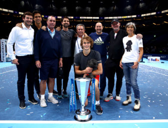 """Zverev Senior über Lendl: """"Er macht seine Arbeit sehr gut"""""""