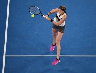 Kvitova nach Sieg über Collins erste Finalistin in Melbourne