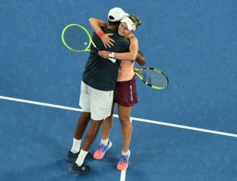 Krejcikova und Ram gewinnen Mixed-Titel bei Australian Open